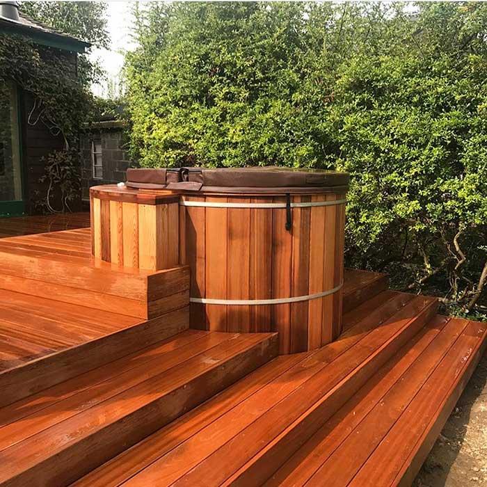 Timber Decking Hardwood Shepperton Aug 2017