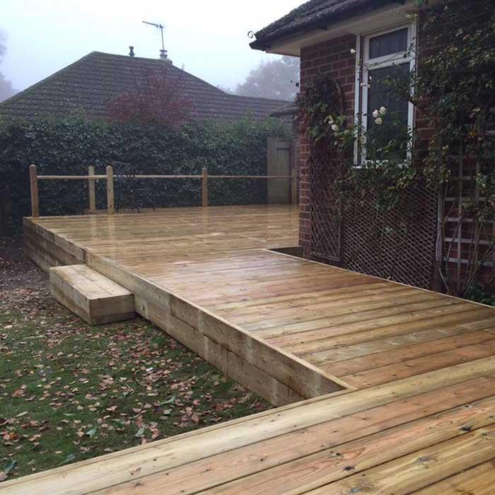 Softwood Decking – Aldershot