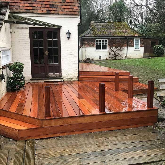 Hardwood Decking - Crawley - Surrey