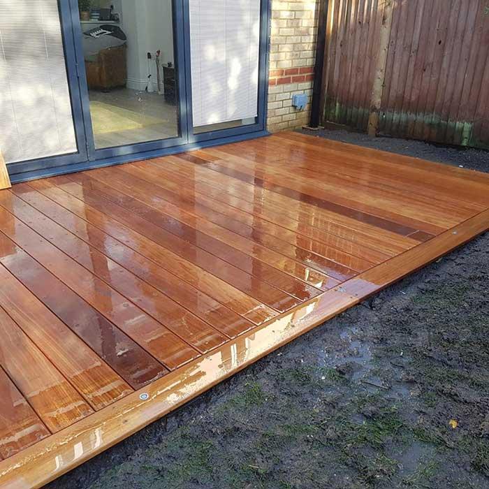 Hardwood Decking – Walton-on-Thames