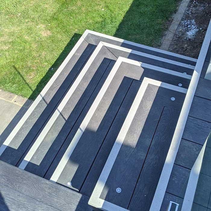 Burnt Cedar Millboard Decking – Sutton