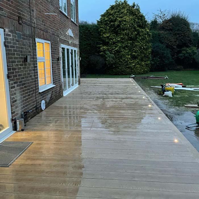 Golden Oak Millboard Decking – Epsom